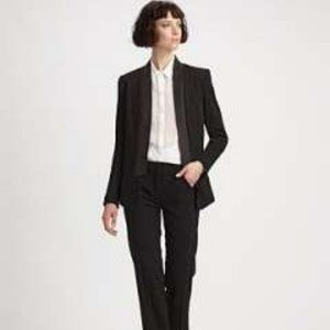 Robert Rodriguez Leather and Knit Tuxedo J…